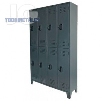 Locker casillero 8 puertas