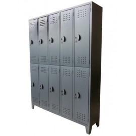 Locker casillero 10  puertas