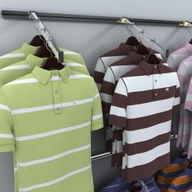 Exhibidores para ropa