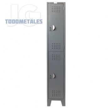 Locker casillero de 2 puertas