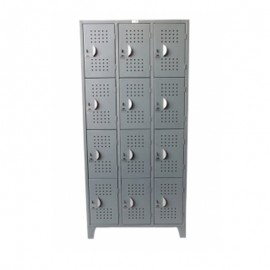 Locker casillero 12 puertas